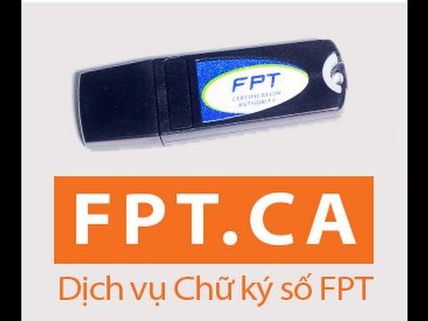 đăng ký chữ ký số fpt-ca tại tphcm
