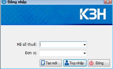 màn hình đăng nhập KBHXH